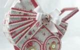 Ксения 68 - Винтажные коляска, корзинка из бумаги и другое.