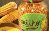 Ксения 68 - Украшение для банки с кукурузой (соленое тесто)