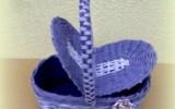 Ксения 68 - Корзинка с двойной крышкой (газетная лоза)