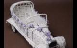 Ксения 68 - Свадебный автомобиль (газетная лоза)