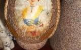 Ксения 68 - Деревянное яйцо с отделкой «под камень»