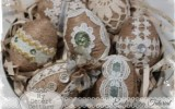 Ксения 68 - Винтажные джутовые пасхальные яйца