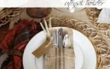 Ксения 68 - Украшаем столовые приборы мешковиной