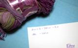 Ксения 68 - Как рассчитать количество пряжи - 2 способа