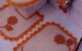 Ксения 68 - Комплект для ванной (вязание крючком)