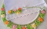 Ксения 68 - Уникальные обвязки крючком. Салфетки и полотенца