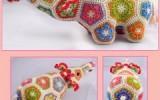 Ксения 68 - Вязаные игрушки на основе африканского цветка