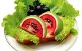 Ксения 68 - Изготовление бутерброда   с «арбузом»