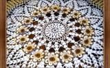 Ксения 68 - Шикарная скатерть. Вязание крючком.Схема