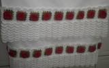 Ксения 68 - Кружевная кайма с розочками для обвязки полотенец