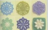 Ксения 68 - Вязаные крючком мотивы, цветы, кружева и варианты их применения