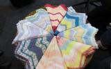 Ксения 68 - Радужный плед крючком для малыша