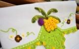 Ксения 68 - Кухонное полотенце с бананами и кружевами крючком