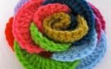 Ксения 68 - Радужная роза из колец