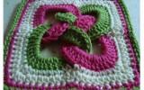Ксения 68 - Красивые квадратные мотивы крючком