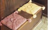 Ксения 68 - Декоративная сидушка для стула крючком. Схемы
