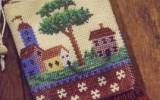 Ксения 68 - Вязание с бисером спицами