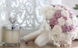 Ксения 68 - Свадебный букет роз крючком