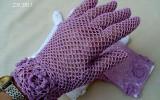 Ксения 68 - Ажурные перчатки крючком