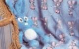 Ксения 68 - Детский плед с зайчиками. Схема