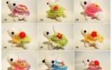 Ксения 68 - Забавные зверюшки (вязание крючком)