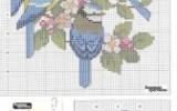 Ксения 68 - Вышивка крестом. Птички. Схемы