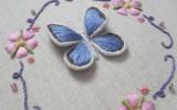 Ксения 68 - Объемная вышивка бабочки