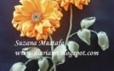 Ксения 68 - Хризантема от Susana Mustafa.МК
