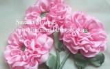 Ксения 68 - Розы. Вышивка лентами. МК от Suzana Mustafa