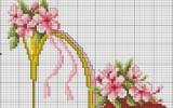 Ксения 68 - Туфелька. Схемы для вышивки крестиком