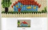 Ксения 68 - Вышивка по вязаному полотну