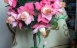 """Наталья Ильина - Конфетный топиарий """"А где-то персики цветут"""""""