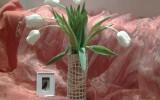 Ve-Руся - Белая  ваза