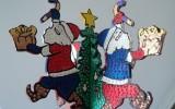 Юлия-Михаэль - Новогодние украшения из фанеры