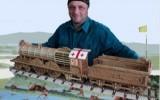 Юлия-Михаэль - Викторианский локомотив. 1 метр 6 см