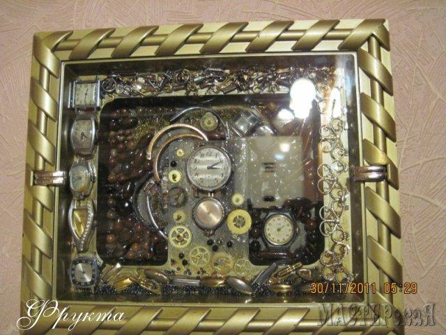 Поделки из наручных часов своими руками