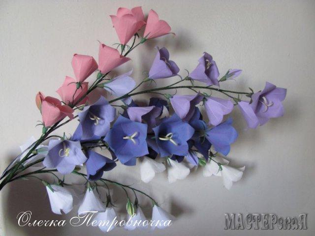 Поделки цветы колокольчики своими руками 22