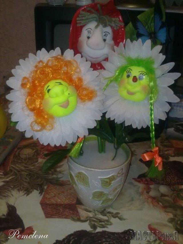 Цветы куклы своими руками