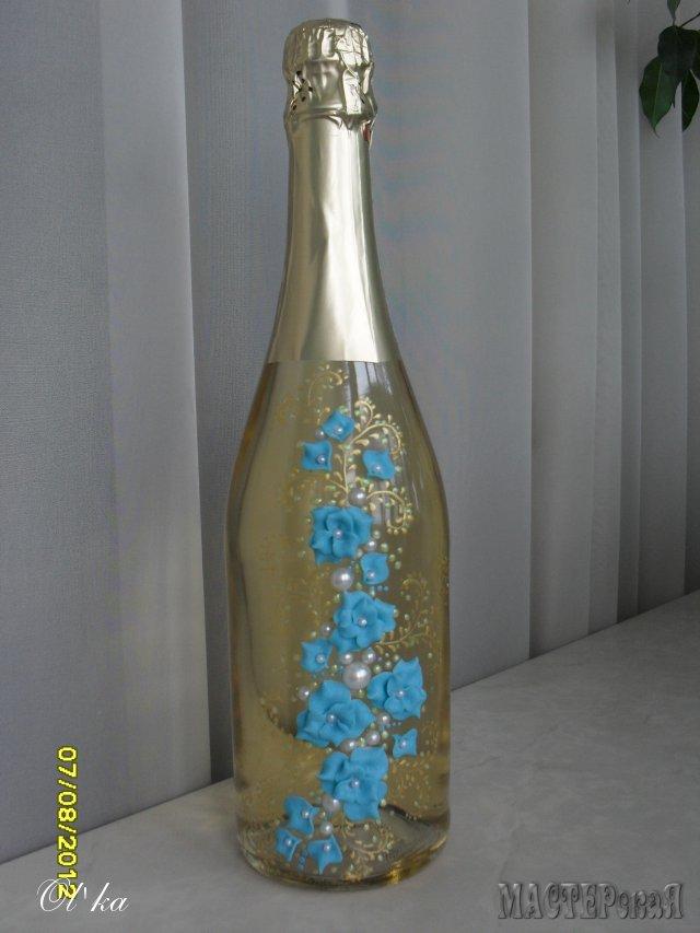 Поделки с бутылкой шампанского своими руками