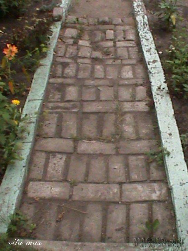 Садовые дорожки из цемента своими руками видео