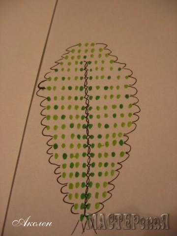 Малый лист плетется по этой схеме по аналогии большого листа, длинна проволоки примерно 50см, количество листов 12
