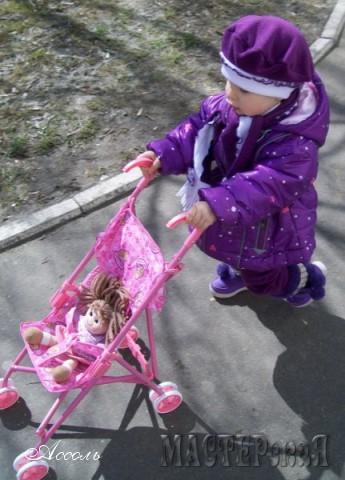 Первая серьезная работа! Курточка для дочки, шарф, беретик и  штанишки))