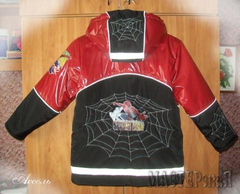 Это вторая моя крупная работа для детей! Куртка для сына!