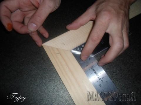 Изготовление рамки для панно