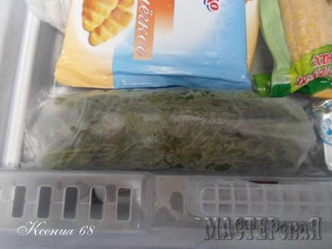 Два способа хранения зелени на зиму
