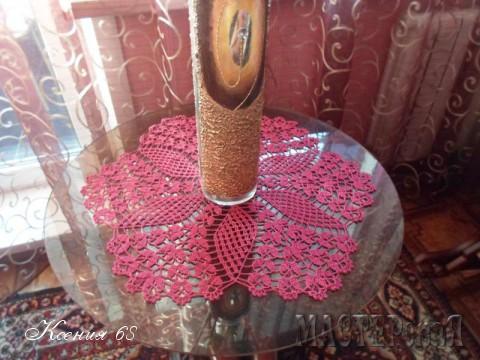 Салфетка - цветок