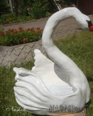 """Кашпо садовое """"Лебедь"""""""