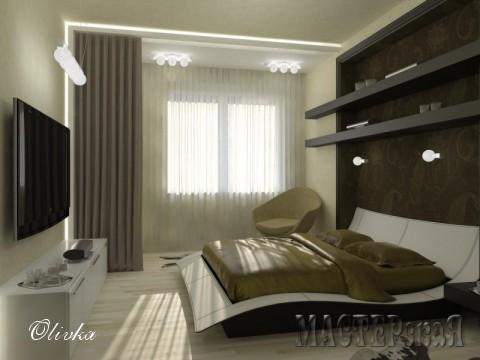 Спальня для молодого человека