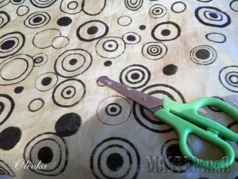 эту ткань я использовала для декора манекена и изготовления колье