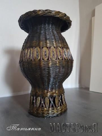 Напольная ваза-амфора